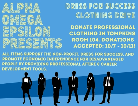 Dress for Success Clothing Drive!!!! DONATE!!!