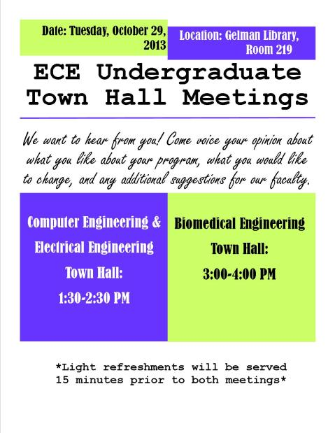 ECE TOWNHALL